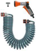GARDENA Комплект спираловиден маркуч 10 м, воден пистолет и конектори City Gardening